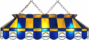 "Imperial International San Diego Chargers 40"" Glass Lamp"