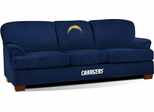 Imperial International San Diego Chargers First Team Microfiber Sofa