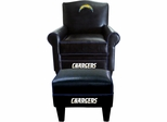 Imperial International San Diego Chargers Game Time Chair & Ottoman