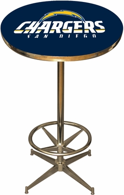 Imperial International San Diego Chargers Pub Table