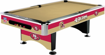 Imperial International San Francisco 49ers 8' Pool Table
