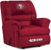 Imperial International San Francisco 49ers Big Daddy Microfiber Recliner
