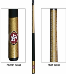 Imperial International San Francisco 49ers Billiard Cue Stick