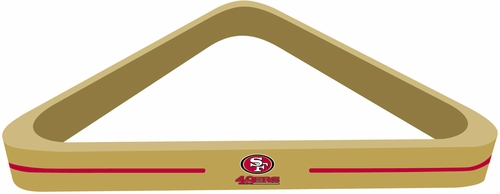 Imperial International San Francisco 49ers Billiard Triangle