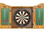 Imperial International San Francisco 49ers Dart Cabinet