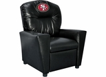Imperial International San Francisco 49ers Faux Leather Kids Recliner