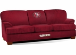 Imperial International San Francisco 49ers First Team Microfiber Sofa