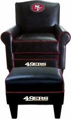 Imperial International San Francisco 49ers Game Time Chair & Ottoman