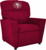 Imperial International San Francisco 49ers Kids Microfiber Recliner