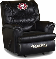 Imperial International San Francisco 49ers Leather Big Daddy Recliner