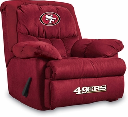 Imperial International San Francisco 49ers Microfiber Home Team Recliner
