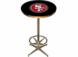 Imperial International San Francisco 49ers Pub Table