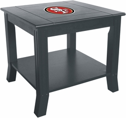 Imperial International San Francisco 49ers Side Table