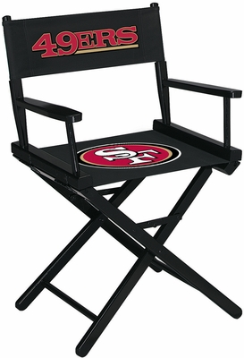 Imperial International San Francisco 49ers Table Height Directors Chair