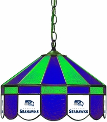 "Imperial International Seattle Seahawks 16"" Glass Lamp"