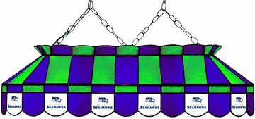 "Imperial International Seattle Seahawks 40"" Glass Lamp"