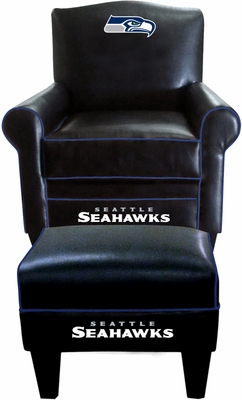 Imperial International Seattle Seahawks Game Time Chair & Ottoman