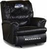 Imperial International Seattle Seahawks Leather Big Daddy Recliner