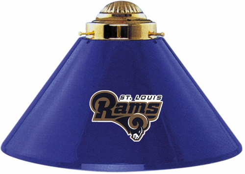 Imperial International St Louis Rams 3 Shade Metal Lamp