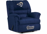 Imperial International St Louis Rams Big Daddy Microfiber Recliner