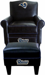 Imperial International St. Louis Rams Game Time Chair & Ottoman