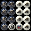 Imperial International St Louis Rams Home Versus Away Billiard Ball Set