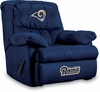 Imperial International St Louis Rams Microfiber Home Team Recliner
