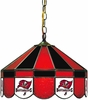 "Imperial International Tampa Bay Buccaneers 16"" Glass Lamp"