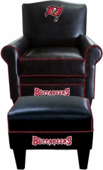 Imperial International Tampa Bay Buccaneers Game Time Chair & Ottoman