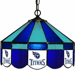 "Imperial International Tennessee Titans 16"" Glass Lamp"