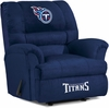Imperial International Tennessee Titans Big Daddy Microfiber Recliner