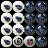 Imperial International Tennessee Titans Home Versus Away Billiard Ball Set