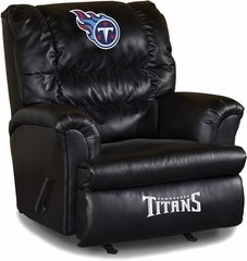 Imperial International Tennessee Titans Leather Big Daddy Recliner