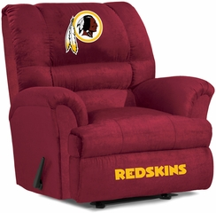 Imperial International Washington Redskins Big Daddy Microfiber Recliner