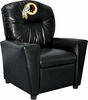 Imperial International Washington Redskins Faux Leather Kids Recliner