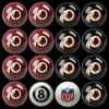 Imperial International Washington Redskins Home Vs. Away Billiard Ball Set