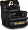 Imperial International Washington Redskins Leather Big Daddy Recliner