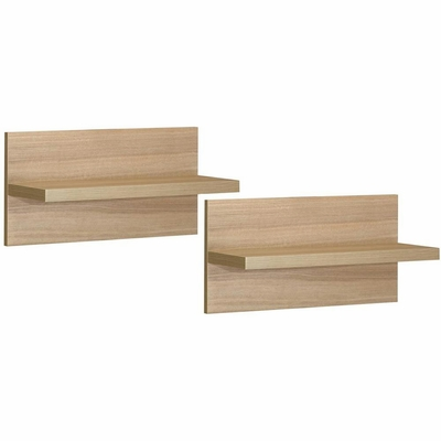 Infini-T Pair of Decorative Wall Shelves - Nexera Furniture