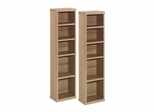 Infini-T Set of 2 CD / DVD Storage Towers - Nexera Furniture