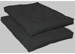 Innerspring Black Futon Mattress - 2009IS