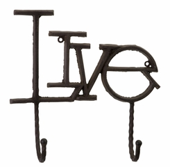 Inspired Wall Hooks (Set of 3) - IMAX - 10714-3