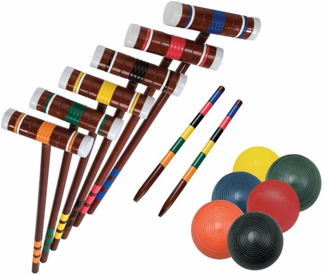Intermediate 6-Player Croquet - Franklin Sports