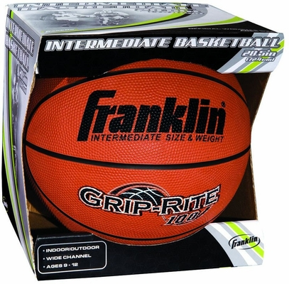 Intermediate B6 Grip-Rite 100 Basketball - Franklin Sports