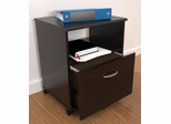 Inval Mobile Drawer File Espresso Wenge