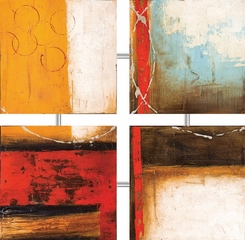 Inviting 4-Panel Wall Art - 960533