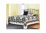 Iron Bed / Metal Bed - Bel Air Bed in Black Gold - Hillsdale Furniture