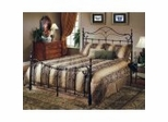 Iron Bed / Metal Bed - Bennett Bed in Antique Bronze - Hillsdale Furniture
