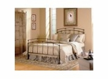 Iron Bed / Metal Bed - Fenton Bed in Black Walnut Finish - Fashion Bed Group