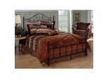 Iron Bed / Metal Bed - Harrison Bed in Texture Black - Hillsdale Furniture