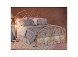 Iron Bed / Metal Bed - Jackson Bed in Classic Brass Finish - Hillsdale Furniture